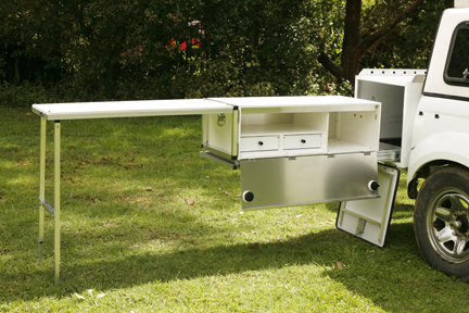 Universal Camper Kitchen Made By Outback Touring Solutions