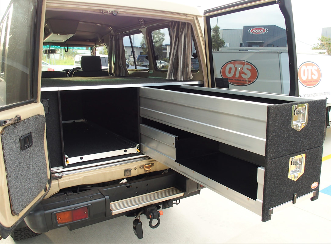 Custom Vehicle Fitouts Drawer Systems For Your 4wd Ute Or Camper Trailer Sunshine Coast Queensland Outback Touring Solutions